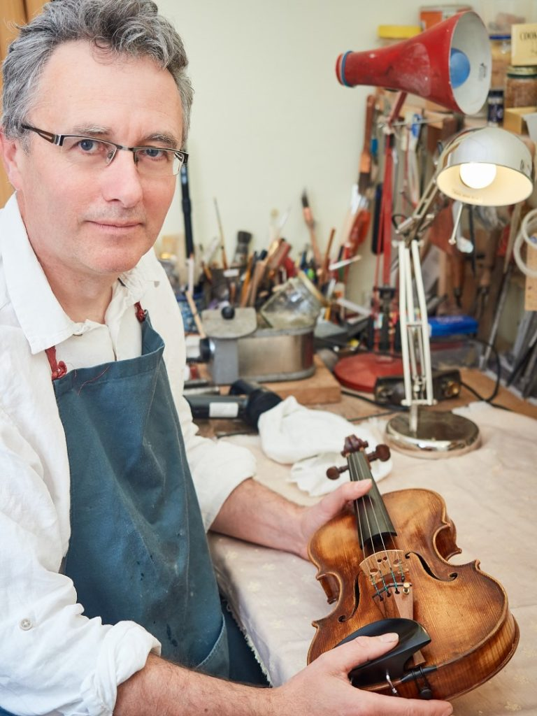 Alan in workshop