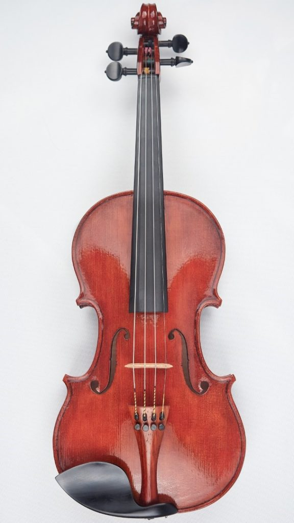New violin front