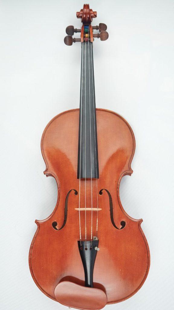 English viola front
