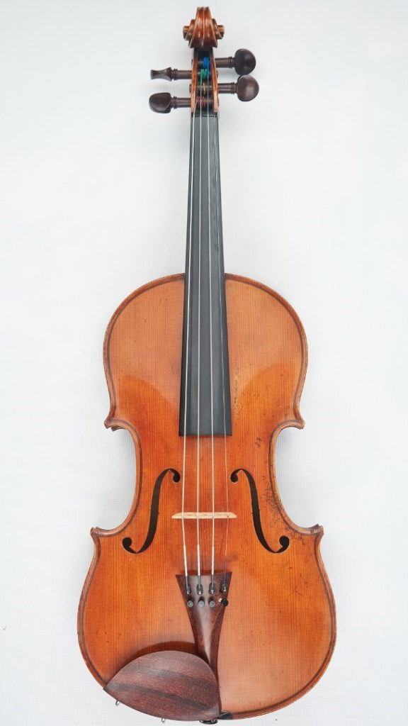 French violin front